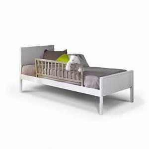 Barriere Pour Lit Enfant : barri re de lit enfant 120 cm lin idkid 39 s ~ Premium-room.com Idées de Décoration