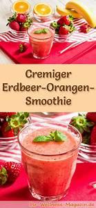 Smoothie Rezepte Zum Abnehmen : erdbeer orangen smoothie gesundes rezept zum abnehmen ~ Frokenaadalensverden.com Haus und Dekorationen