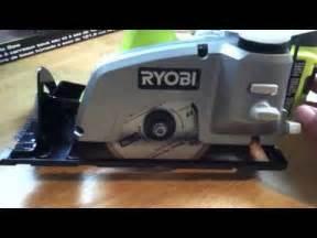 Ryobi Tile Saw Cordless by Ryobi P580 Cordless 18v 1 Tile Saw Review