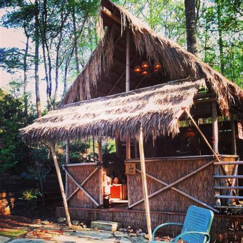 How To Build A Tiki Hut by Diy Plans On How To Build Your Own Tiki Hut With By Bamboo