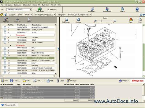 Suzuki Worldwide Automotive 2009 Parts Catalog Order