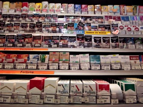 prix bureau de tabac le prix des cigarettes et du tabac à rouler devrait
