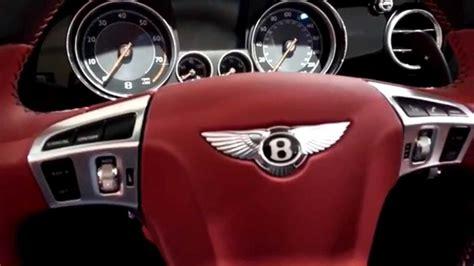Bentley Luxury Car Red Interior