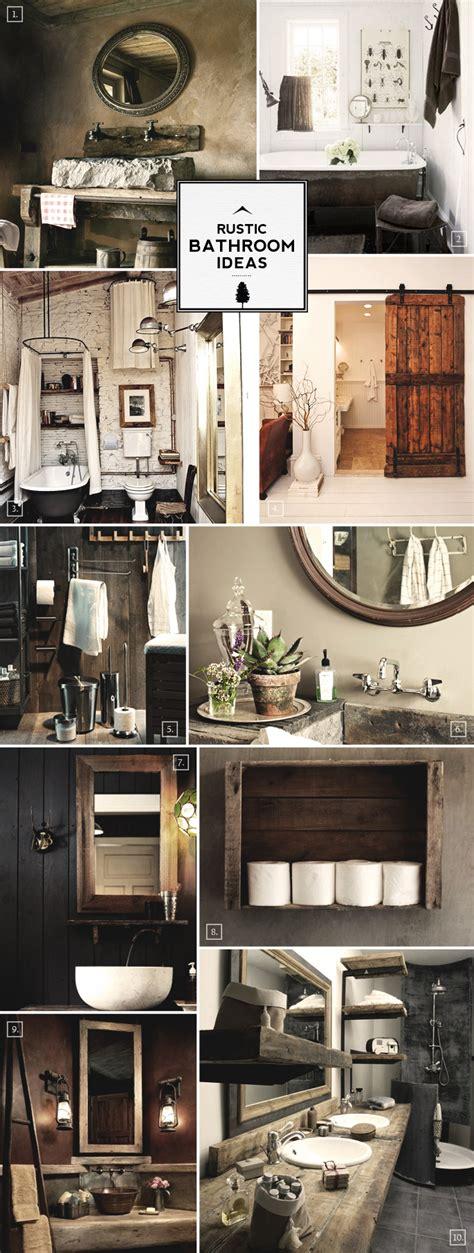 Rustic Bathroom Ideas And Decor Tips  Home Tree Atlas