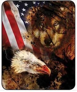 American Flag, Wolf & Eagle Lidl Dollys