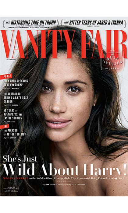 Vanity Fair Magazine Canada - 5 things we learned about meghan markle from vanity