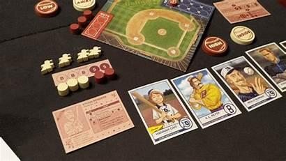 Baseball Board Games Bottom Strike Themed Won