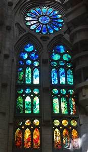 Sagrada Familia / Stained Glass, Gaudy | Glass | Pinterest