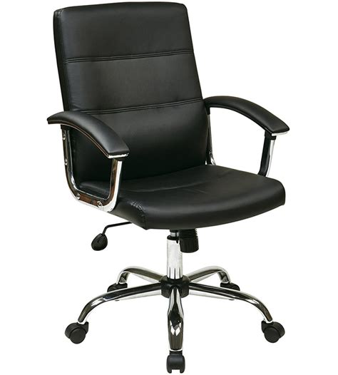 white home office chair faux leather office chair in office chairs