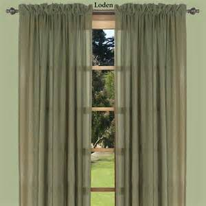 lucerne dual pocket semi sheer curtain panels