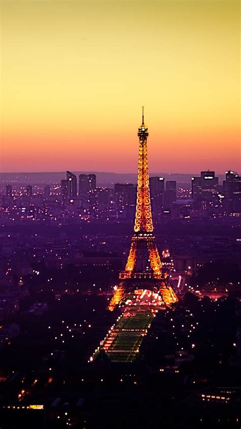eiffel tower night iphone     iphone  wallpapers