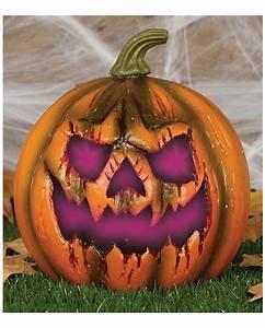 Halloween Kostüm Kürbis : halloween k rbis mit led 22cm halloween deko horror ~ Frokenaadalensverden.com Haus und Dekorationen