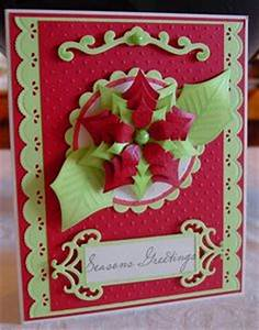 1000 images about Cards Christmas Poinsettia on