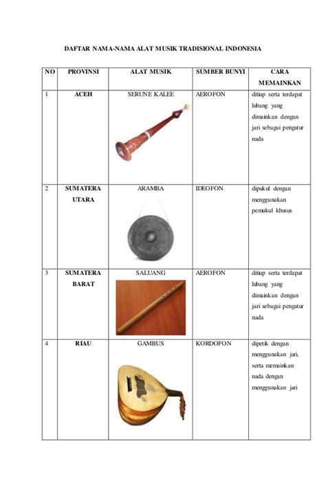 Ketika saat bambu saling beradu druri dana menghasilkan suara atau bunyi alat musik ini termasuk kedalam kelompok alat musik membranophone yang terbuat dari kayu dan selaput. ALAT MUSIK TRADISIONAL INDONESIA DAN GAMBAR