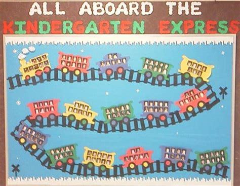 kindergarten express bulletin board idea 964 | Kindergarten Express Bulletin Board Idea