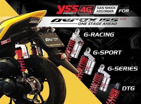Aerok Modifikasi by Modif Suspensi Yamaha Aerox 155 Dengan Shockbreaker Yss