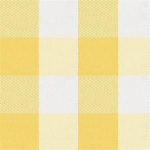 Saffron Buffalo Check Fabric by the Yard Yellow Fabric