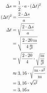 Physik Beschleunigung Berechnen : eine muster rechenaufgabe ~ Themetempest.com Abrechnung