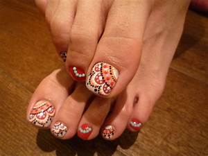 Cute nail art designs toes styling