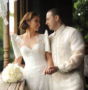filipiniana inspired butterfly sleeves wedding dress and With traditional filipino wedding dress