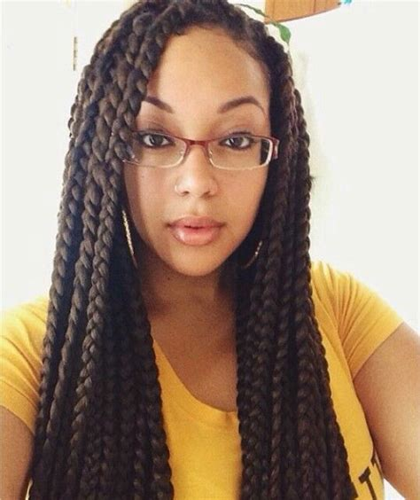Jumbo Box Braids Hairstyles