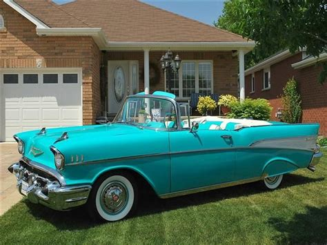 chevrolet bel air convertible tropical turquoise