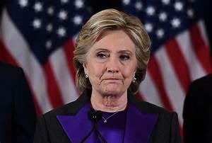 Hillary Clinton blames FBI chief James Comey for defeat.