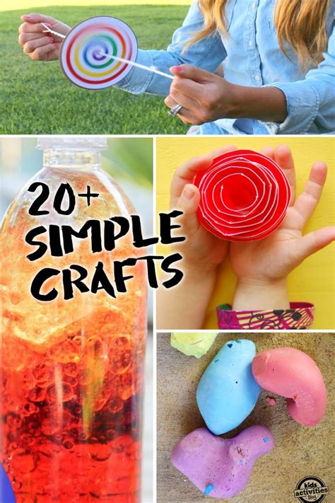 simple crafts kids       supplies