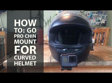 gopro chin mount motorcycle helmet setup doovi