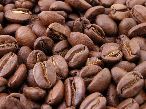 Bestand:Roasted coffee beans   Wikipedia