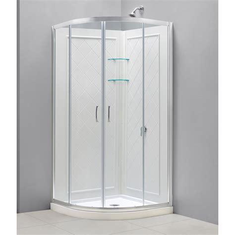 Glass Shower Enclosure Kits by Shower Enclosure Base Backwall Kits
