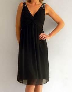 robe de soiree mi longue noire With robe a bretelle mi longue