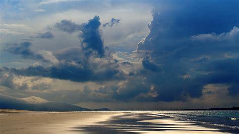 nt beach sea summer rain cloud nature wallpaper