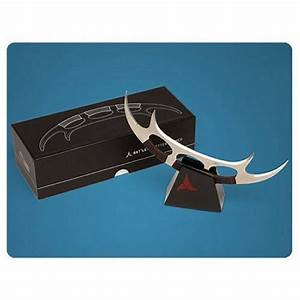 star trek klingon bat39leth letter opener sci fi design With star trek letter opener