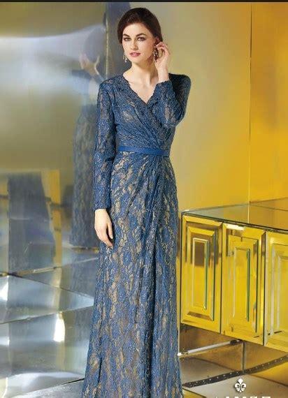 trend model baju dress brokat tercantik sepanjang