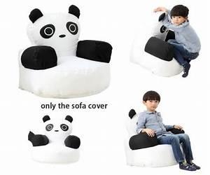 Pouf Chambre Enfant : panda confortable avec accoudoirs pour se dtendre lecture jouer la tablette la console pouf ~ Teatrodelosmanantiales.com Idées de Décoration