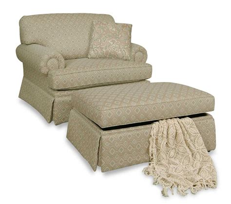 chair with storage ottoman england cambria accent chair and storage ottoman dunk
