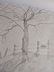 Landscape Pencil Drawing and Natural Pencil Sketching ...