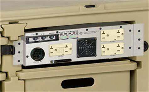 Tactical Desk by Rugged Tactical Desk 1000 Va 600 Watt Global Ups