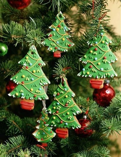 hanging christmas tree cookie ornaments pictures photos