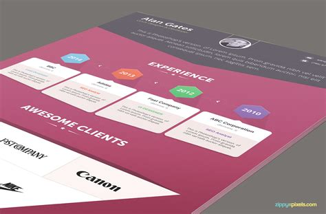 infographic resume cover letter creative resume