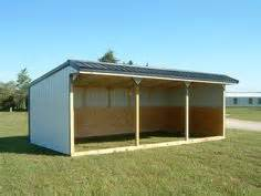 Loafing Shed Kits Oklahoma by Portable Barn Open Shelter Frame 22 Pole Barn Kit Run In