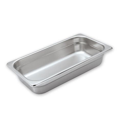 gn  stainless steel food pan mm