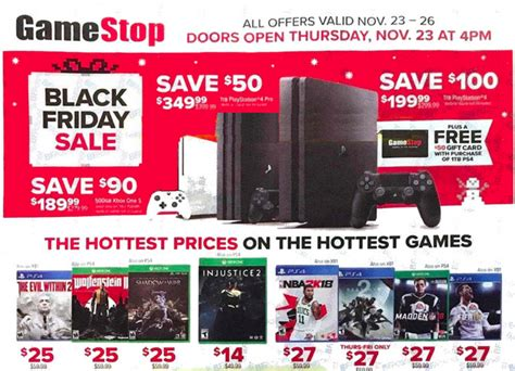 Best Black Friday Website by Black Friday 2017 Gamestop Offers Deals On Consoles