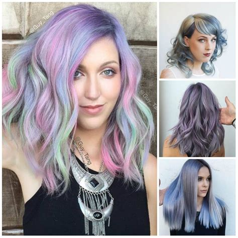 Multi Tone Hair Color by 2017 Multi Tone Prismetallic Hair Colors Hair And Nails