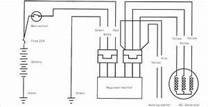 Suzuki Motorcycle 6 Volt Wiring Diagram