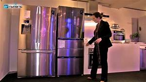 Réfrigérateur congélateur Samsung 5 portes ref: RN415BRKASL YouTube