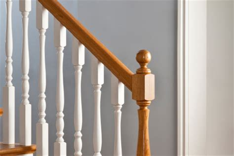 Stripping Paint From Wood Banisters by How To Stain A Banister Diy True Value Projects