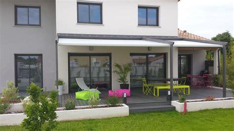 amenagement terrasse moderne en  terrasse jardin
