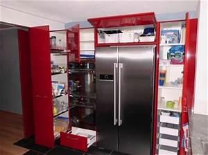 Küche In Rot : ger umige k che in rot h fele functionality world ~ Frokenaadalensverden.com Haus und Dekorationen